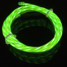 1-5m Flexible Neon LED Light Chasing EL Wire String Rope Car Christmas Decorate