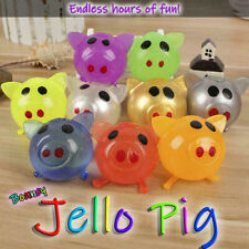 8Pcs Jello Pig Cute Anti Stress Splat Water Pig Ball Vent Toy Venting Sticky
