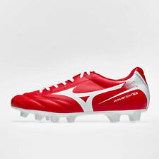 52ddcc0505de Mizuno Mens Monarcida Neo MD Firm Ground Football Boots Studs Trainers  Shoes Red