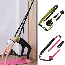 Stretch Resistance Band Back Bend Yoga Fitness Practice Adjustable Training Belt