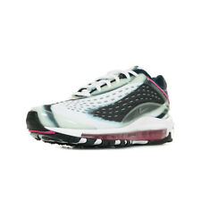 """Chaussures Baskets Nike homme Air Max Deluxe """"Enamel Green"""" taille Blanc Blanche"""