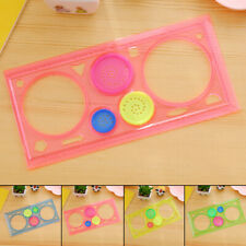 Gifts Ruler Tool Learning Clear Spirograph Geometric Stencil Spiral Stationery