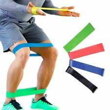 Resistance Elastic Training  Yoga Pilate Rubber Band Stretch Exercise Fitness
