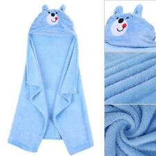 Hudson Baby Animal Face Hooded Towel for Girls Pretty Elephant