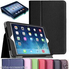 For Apple iPad 9.7 2017 / 2018 Air 2 Leather Tablet Smart Stand Flip Cover Case