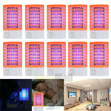 Lot Electric Fly Bug Zapper Mosquito Insect Killer LED Light Trap Night Lamp USA