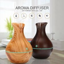 LED Ultrasonic Aroma Humidifier Essential Oil Diffuser Aromatherapy Purifier