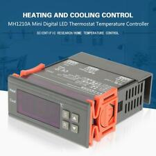 MH1210A LCD Digital Temperature Controller Thermostat -40~120℃ with Sensor Probe