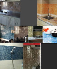 Wall Wrap Waterproof Bathroom Decor Foil Sticker 3d Kitchen Paper Mosaic Anti