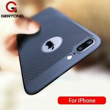 Phone Case For iPhone 6 6s 7 8 Plus Hollow Heat Dissipation Ultra Slim Hard PC
