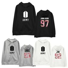 BTS Bangtan Boys Hoodie Sweatshirt JIMIN JIN J-HOPE JUNG KOOK SUGA V RAP MONSTER