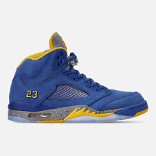 newest e3a50 bd51c AUTHENTIC Nike Air Jordan Retro 5 Laney JSP Varsity Royal Varsity Maize Men  size
