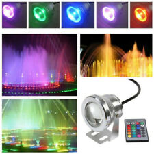 4x 9w Led Rgb Color Changing Fountain Pool Pond Light Landscape Lamp Ac 12v Ip68 Outdoor Lighting