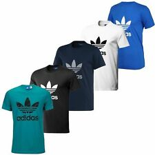 Adidas Originals Trefoil Tee Crew Neck Cotton Casual T-Shirt