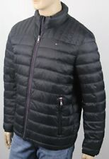 Tommy Hilfiger Black Ultra Loft Puffer Packable Coat NWT $195