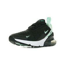 """Chaussures Baskets Nike femme Air Max 270 """"Igloo"""" taille Noir Noire Textile"""