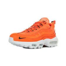 Chaussures Baskets Nike homme Air Max 95 PRM taille Orange Cuir Lacets