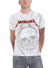 c38214f97ddf Metallica T Shirt Spider Band Logo All over Print new Official Mens