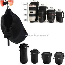 NEW Matin Neoprene waterproof Soft Camera Lens Pouch bag Case Size- S M L XL BC