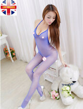 Sexy bodysuit women Open Crotch Stockings Fishnet body stocking erotic Lingerie