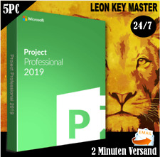 ✔Project 2016/2019 Professional ✔32&64 bits ✔1/2/3/4/5 PC ✔ESD  ✔per E-Mail