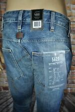 New G-Star Raw 5620 Deconstructed 3D Low Tapered Leg Medium Aged Jeans