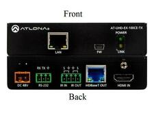 Atlona AT-UHD-EX-100CE-TX 4K/UHD HDMI Over 100M HDBaseT Extender (Tx) with PoE