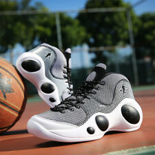 Men's Classy Polka Dot Basketball Boots Shoes Sports Sneakers Athletic High Top