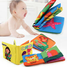 Intelligence Development Cloth Book Bed Cognize Baby Kids Early Educational Toy