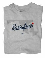 Sassafras Maryland MD T-Shirt MAP