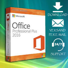 Office 2016 Professional Plus  >> 2016 Pro Plus >> 32&64 Bits >> ESD per Email