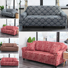 Cotton Stretch Elastic Sofa Covers 1 2 3 4Seater Sofa Protector Couch Slipcover