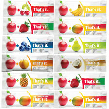 ANY 12 That's It Fruit Bar, 9 Flavors to Choose Apple Peat Banana Coconut Cherry