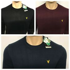 Men's Lyle and Scott Long Sleeve Crew Neck Jumper
