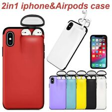 for iPhone 11 Pro Max Case Xs Xr X 8 7 Plus Cover for AirPods Holder Hard Case