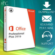 Office 2010/2013/2016/2019 Professional Plus 1/5PC - 2min. Key Per eMail
