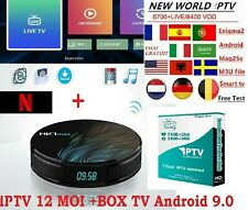 IPTV ABONNEMENT-12-MOIS K1 Max Smart TV Box Android 9.0 chaines 7000 SOLD - 70%