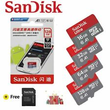 SanDisk A1 Memory Card 128GB 64GB 32GB 16GB 98MB/S Micro sd card Class10 UHS-3