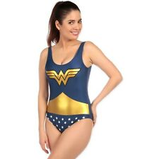 Womens Wonder Woman Bather | DC Comics Swimsuit | Wonder Woman Swimming Costume