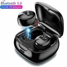 Wireless Bluetooth 5.0 Earbuds Earphones Bass Tws Stereo Headphones Headset Mini