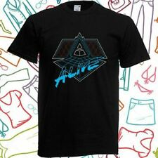 New Daft Punk ALIVE Electro Music Duo Men's Black T-Shirt Size S to 3XL