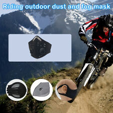 1x Washable PM2.5 Face Mouth Mask Anti Fog Air Pollution With Mask & Filters New