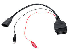 FIAT 3 PIN OBDII OBD2 PLUG DIAGNOSE ADAPTER KABEL STECKER ALFA ROMEO LANCIA