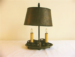 One Of A Kind Arts And Crafts Hammered Copper Lamp C. 1900-1940