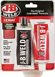 NEW J B WELD 8281 INDUSTRIAL PROFESSIONAL LARGE 10OZ COLD WELD ADHESIVE USA $10.19