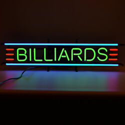 Collection Wholesale Lot 7 Billiards Pool Table Game Room Neon Signs Wall Lamp