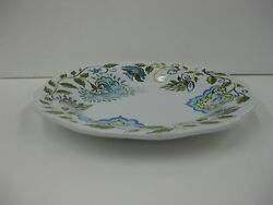 Longaberger Earth And Sky Serving Tray Platter Stoneware