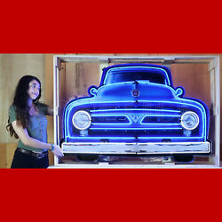 Gas Neon Sign Wings Of Texaco Aviation Fuel Hanger Garage 60 Shaped Steel Can