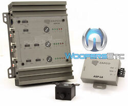 Zapco Asp-l6 Car Audio 6-channel In And Out Line Driver 9.5 Volts Rms New
