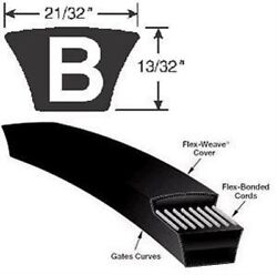 Goodyear And Other Top Name Belts B27- B83